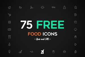 Food and Kitchen icons pack
