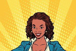 Super mom African businesswoman