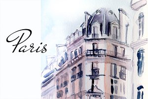 Paris illustration architecture