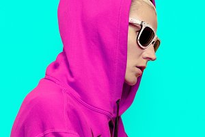 Hip Hop Girl. Urban style