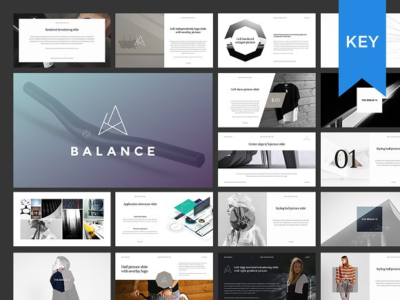 keynote presentation bundle presentation templates creative market