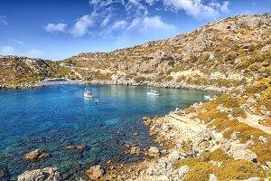 Holiday on Greek Island