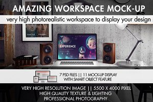 Amazing Workspace Mock-Up
