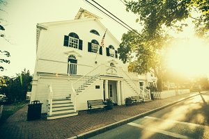 Edgartown Town Hall Building