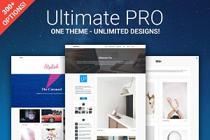 Ultimate Pro - Modular Tumblr Theme