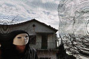 Masked Evil Figure
