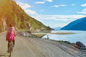 Biking in Alaska