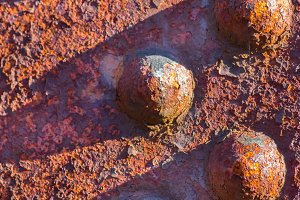 Rust rivets