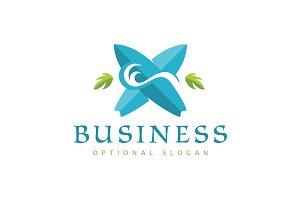 Tidal Wave Surfing Logo