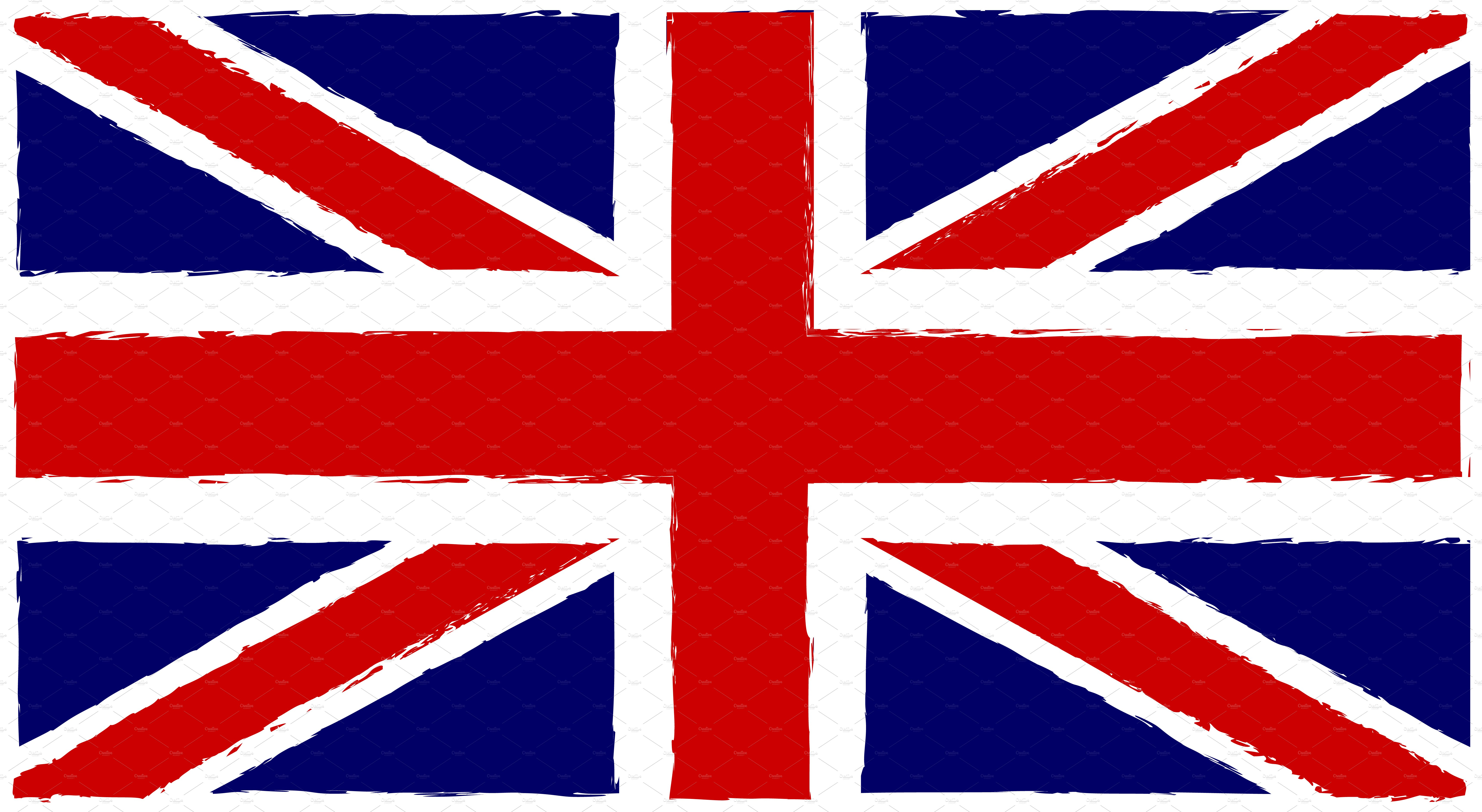 British flag old style vector ~ Objects ~ Creative Market
