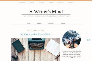 Responsive Blogger Template - 3