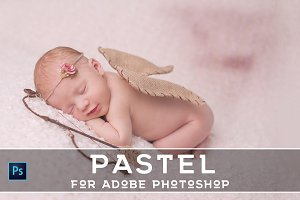 20 Pro Pastel PS Actions