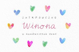 Winona Script Font