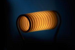 Filament of the lightbulb