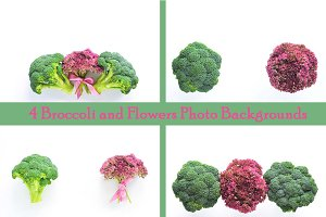 Broccoli and Flowers