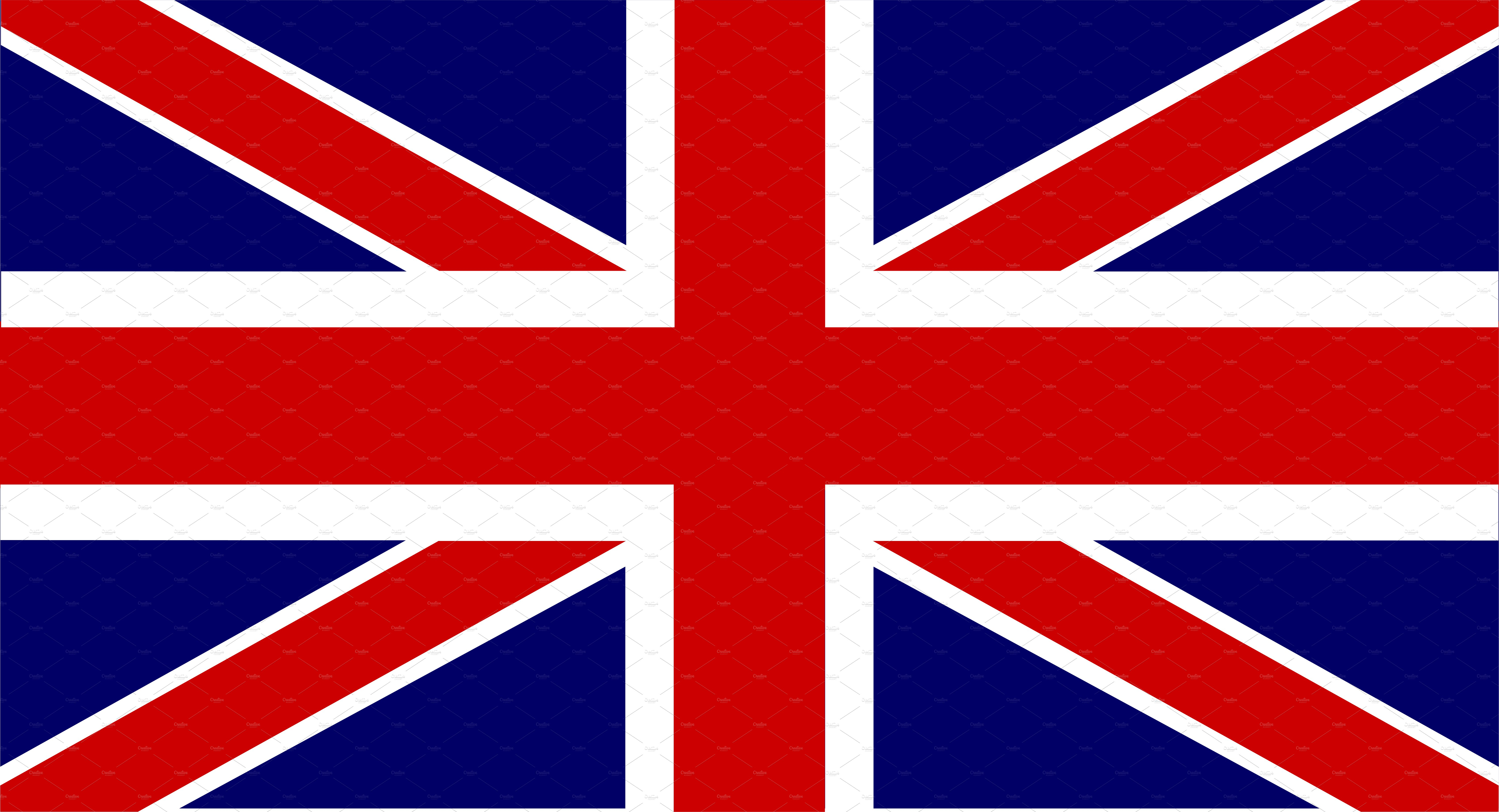 British flag vector ~ Graphic Objects ~ Creative Market