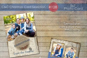 Christmas Photo Card Selection #128