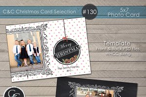 Christmas Photo Card Selection #130