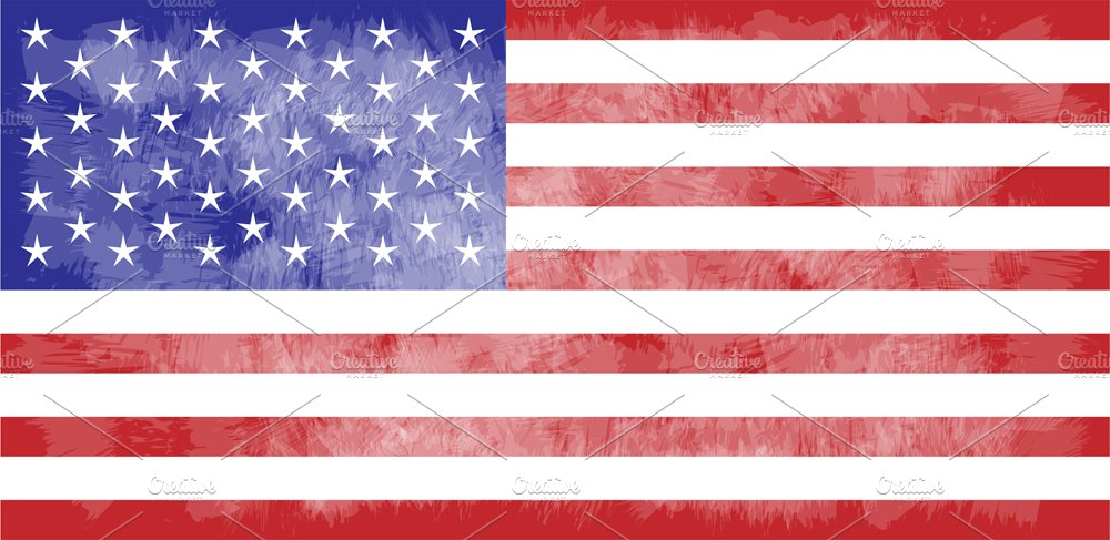 usa flag american flag grunge graphic objects creative market