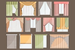 Different curtains