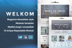 Welkom - Responsive Email Template