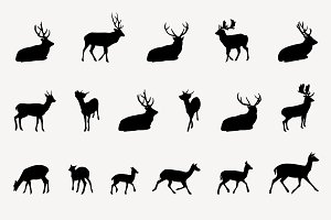 Christmas Clipart. Deer