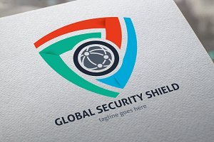 Global Security Shield Logo