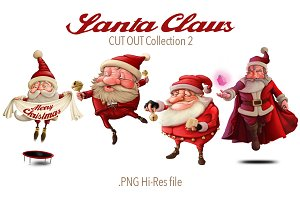 Santa Claus Cut-out collection 2