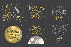 6 Hand Lettering Quotes