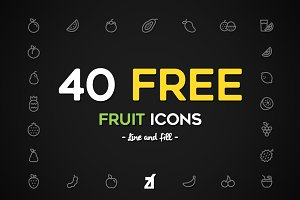 Fruit icons pack