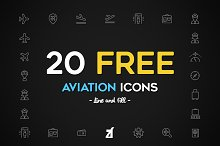 Aviation Icons pack