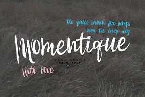 Momentique font