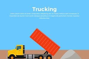 Trucking Banner