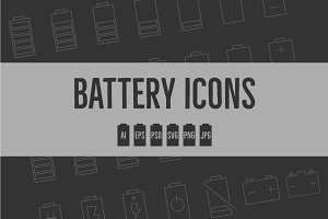 Battery Level Icons