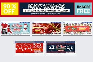 5 Christmas Timeline Bundle