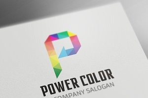Power Color  Logo