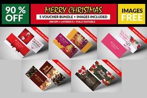 5 Christmas Gift Voucher Bundle