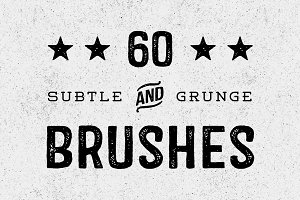 60 Great Subtle Grunge Brushes