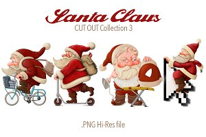 Santa Claus Cut-out Collection 3