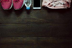 Items women sport.