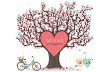 Love Tree Wedding Invitation