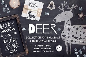DEER | Festive design collection