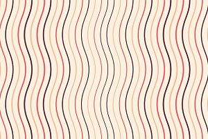 The geometric pattern by stripes