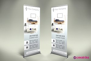 Furniture Roll Up Banner - v035
