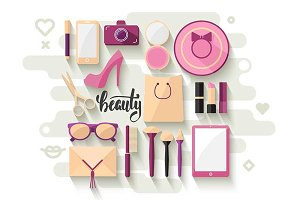 Vector beauty SET