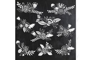 Chalkboard Wedding Flower