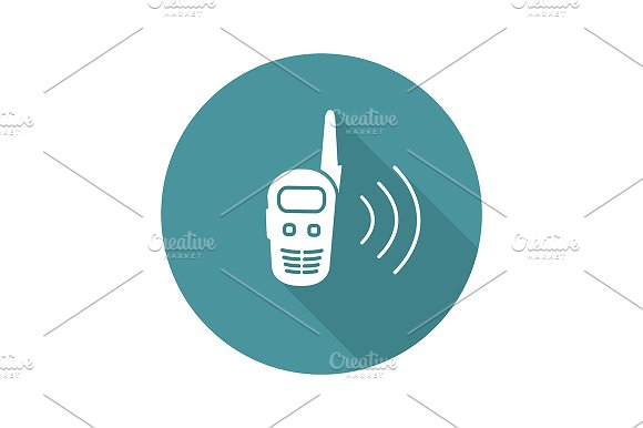 Walkie talkie icon. Vector - Icons