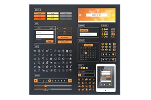 Ui kit responsive web design
