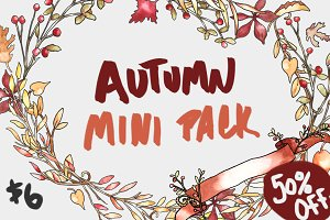 Autumn Invitation Mini Pack