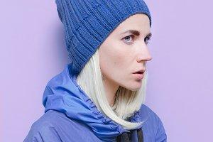 fashion clothing. air blue trend